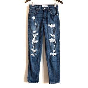 *3/$25* GARAGE Girlfriend Boyfriend Distress Jeans